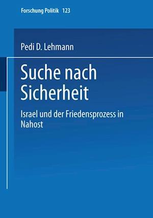 Suche nach Sicherheit af Pedi D. Lehmann