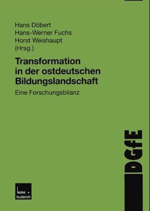 Transformation in der ostdeutschen Bildungslandschaft