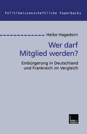 Wer darf Mitglied werden? af Heike Hagedorn
