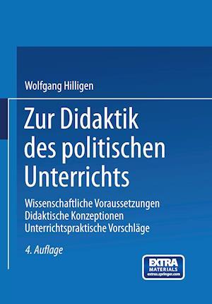Zur Didaktik Des Politischen Unterrichts af Wolfgang Hilligen