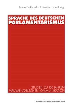 Sprache des deutschen Parlamentarismus