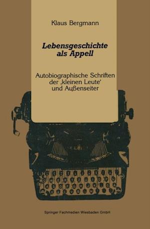 Lebensgeschichte als Appell af Klaus Bergmann