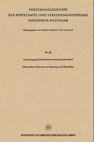Chemisches Glanzen von Messing und Neusilber