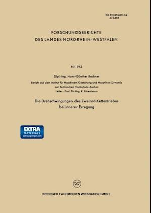 Die Drehschwingungen des Zweirad-Kettentriebes bei innerer Erregung af Hans-Gunther Rachner