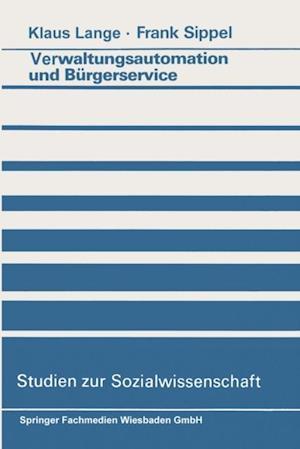 Verwaltungsautomation und Burgerservice af Klaus Lange