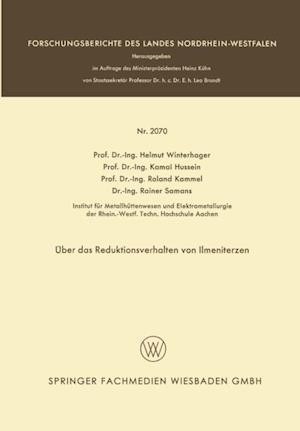 Uber das Reduktionsverhalten von Ilmeniterzen af Helmut Winterhager