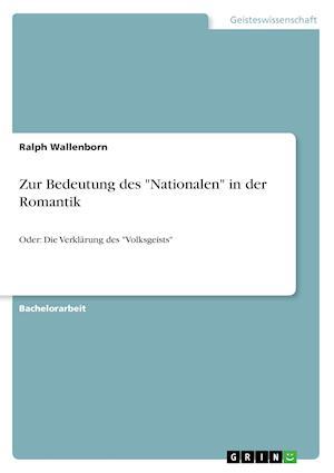 Bog, paperback Zur Bedeutung Des