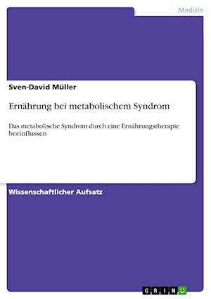 Bog, paperback Ernahrung Bei Metabolischem Syndrom af Sven-David Muller