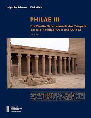 Bog, hardback Philae III af Holger Kockelmann, Erich Winter
