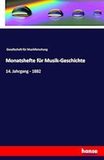 Monatshefte Fur Musik-Geschichte