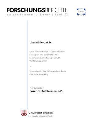 Bog, paperback Resin Film Pultrusion af Lisa Muller