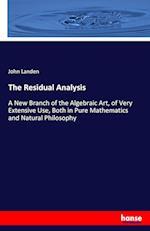 The Residual Analysis