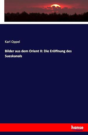 Bog, paperback Bilder Aus Dem Orient II af Karl Oppel
