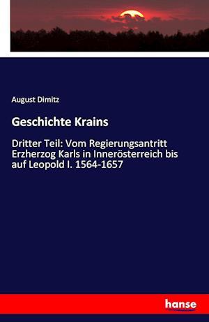 Bog, paperback Geschichte Krains af August Dimitz
