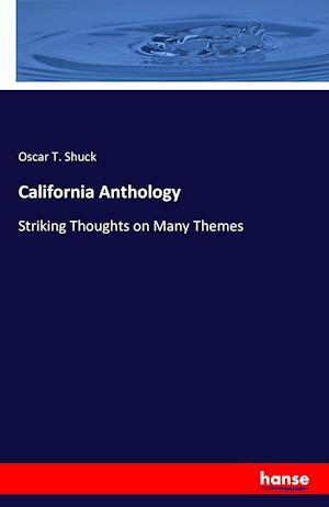 Bog, paperback California Anthology af Oscar T. Shuck