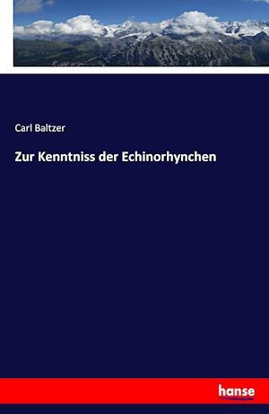 Bog, paperback Zur Kenntniss Der Echinorhynchen af Carl Baltzer