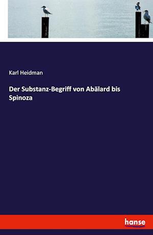 Bog, paperback Der Substanz-Begriff Von Abalard Bis Spinoza af Karl Heidman