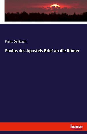 Bog, paperback Paulus Des Apostels Brief an Die Romer af Franz Delitzsch