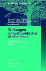 Wirkungen Umweltpolitischer Massnahmen af Joachim Frohn, Pu Chen, Bernhard Hillebrand
