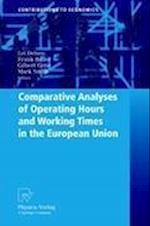 Comparative Analyses of Operating Hours and Working Times in the European Union af Mark Smith, Frank Bauer, Gilbert Cette
