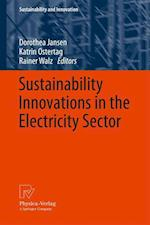 Sustainability Innovations in the Electricity Sector af Dorothea Jansen, Rainer Walz, Katrin Ostertag