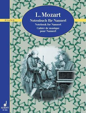 Notebook Nanner L. Moazrt af Leopold Mozart
