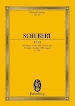 Piano Trio Op. 100 Efl Maj af Franz Schubert