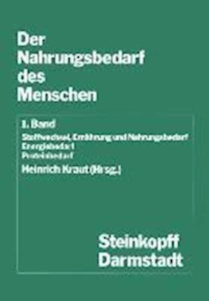 Der Nahrungsbedarf Des Menschen af Heinrich Kraut