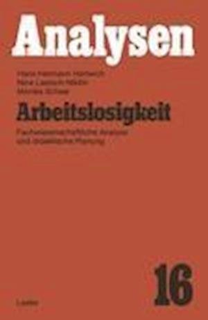 Arbeitslosigkeit af Hans-Hermann Hartwich