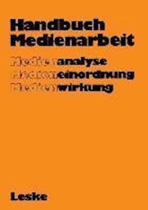 Handbuch Medienarbeit af Gerd Albrecht, Gerd Albrecht