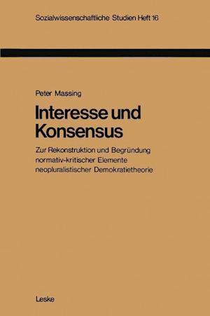 Interesse Und Konsensus af Peter Massing