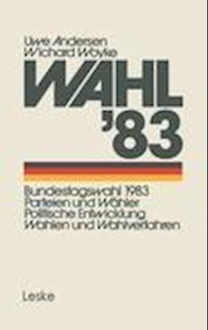 Wahl'83 af Andersen Uwe