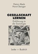 Gesellschaft Lernen af Heinz Abels