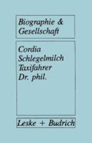 Taxifahrer Dr. Phil. af Cordia Schlegelmilch