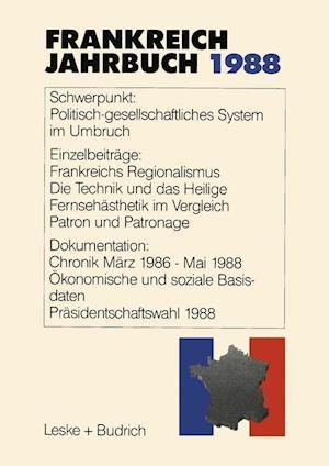 Frankreich-Jahrbuch 1988 af Marieluise Christadler, Adolf Kimmel, Gerhard Kiersch