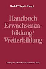 Handbuch Erwachsenenbildung/Weiterbildung af Rudolf Tippelt