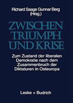 Zwischenglish Triumph Und Krise af Peter Bremer