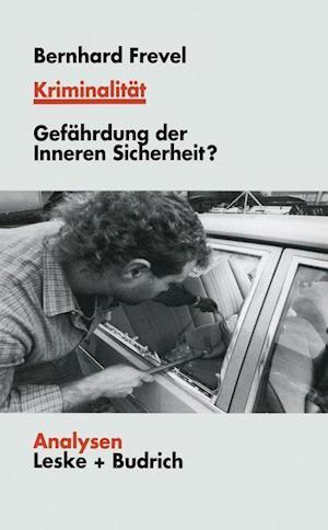 Kriminalitat af Bernhard Frevel