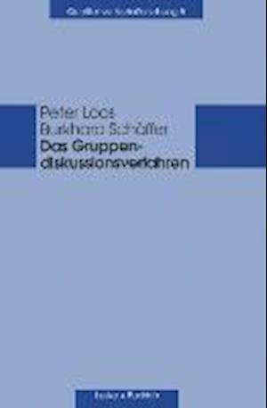 Das Gruppendiskussionsverfahren af Burkhard Schaffer, Peter Loos