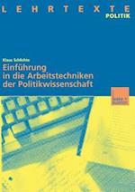 Schlichte, Arbeitstechniken Politikwissenschaft af Klaus Schlichte