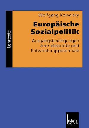 Europaische Sozialpolitik af Wolfgang Kowalsky