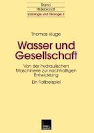 Wasser Und Gesellschaft af Thomas Kluge