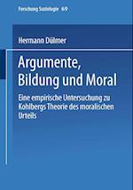 Argumente, Bildung Und Moral af Hermann Dulmer