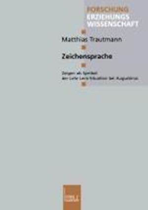 Zeichensprache af Matthias Tramann, Matthias Trautmann