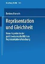 Reprasentation Und Gleichheit af Bettina Hierath, Bettina Hierath