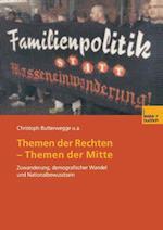 Themen Der Rechten - Themen Der Mitte af Alexander H. Usler, Janine Cremer, Christoph Butterwegge