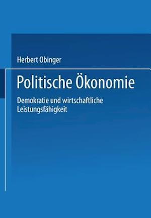 Politische Okonomie af Herbert Obinger
