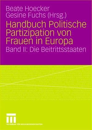 Handbuch Politische Partizipation von Frauen in Europa af Beate Hoecker