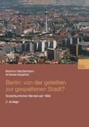 Berlin af Hartmut Haussermann, Andreas Kapphan