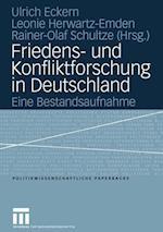 Friedens- Und Konfliktforschung in Deutschland af Tanja Zinterer